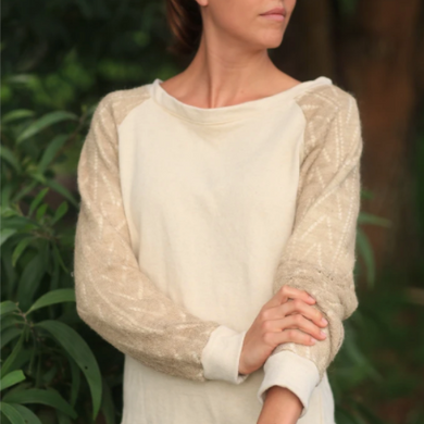Nettle and Organic Cotton Fiber Fortifying Sweatshirt