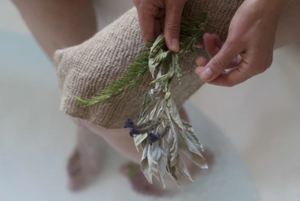 Wildcrafted Nettle Fiber Body Cloth