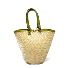 Load image into Gallery viewer, Mara Green Tote