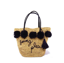 Load image into Gallery viewer, Bea Pom Pom Tote
