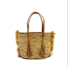 Load image into Gallery viewer, Diana Fringe Tote Bag