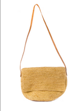 Load image into Gallery viewer, Simone Cross Body Raffia Bag