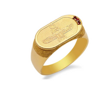 Load image into Gallery viewer, Scarab Ring | Rubies