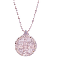 Load image into Gallery viewer, Scarab Choker | Champagne Diamonds