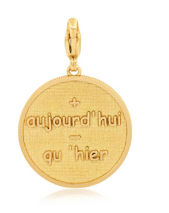 Self Empowerment Coin Charm | Ruby