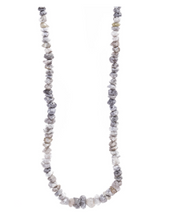 Load image into Gallery viewer, Grey Rough Diamond Necklace