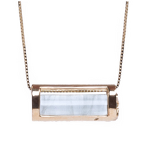 Load image into Gallery viewer, Signature Collection Aquamarine Necklace | Keep Calm and Inspire