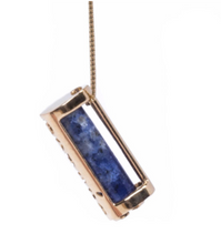 Load image into Gallery viewer, Signature Collection Azurite Necklace | Enlightenment