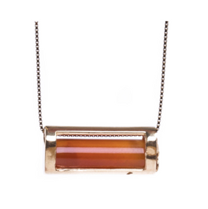 Signature Collection Carnelian Necklace | Courage & Vitality