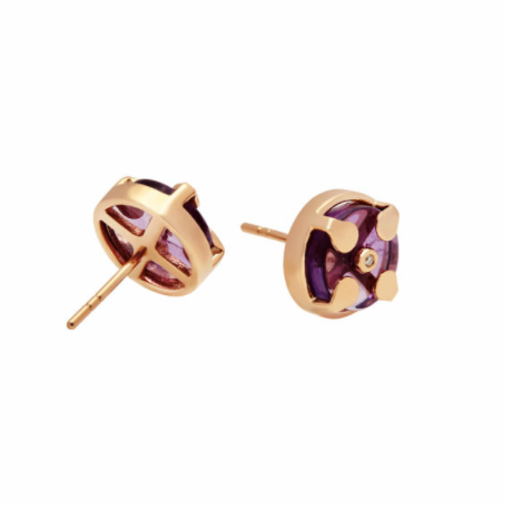 Signature Earrings | Amethyst