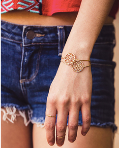 Dream Catcher Collection | Bracelet with Yellow Jasper