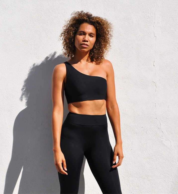 Sana Terra Asymmetrical Sports Bra