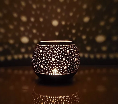 Coconut Shell Luminaria