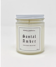 Load image into Gallery viewer, Santal Amber | Classic Glass Candle Jar