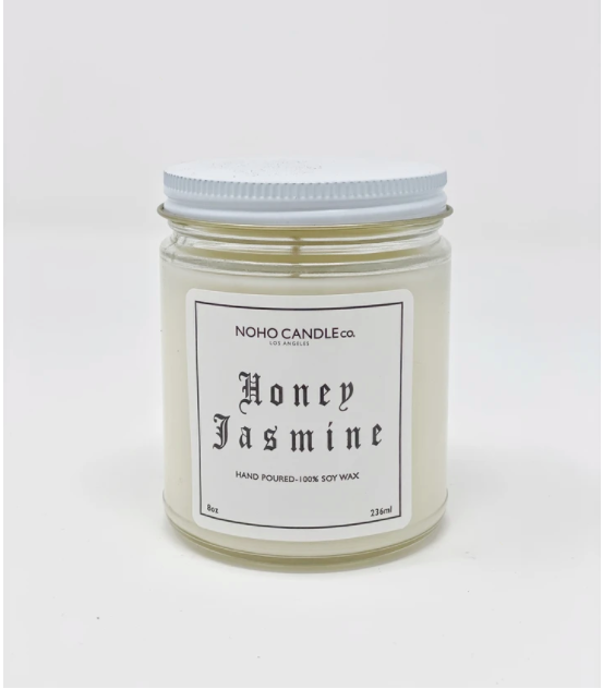 Honey Jasmine | Classic Glass Candle Jars