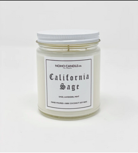 California Sage | Classic Glass Candle Jar