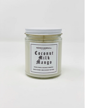Load image into Gallery viewer, Coconut Milk Mango | Classic Glass Candle Jar