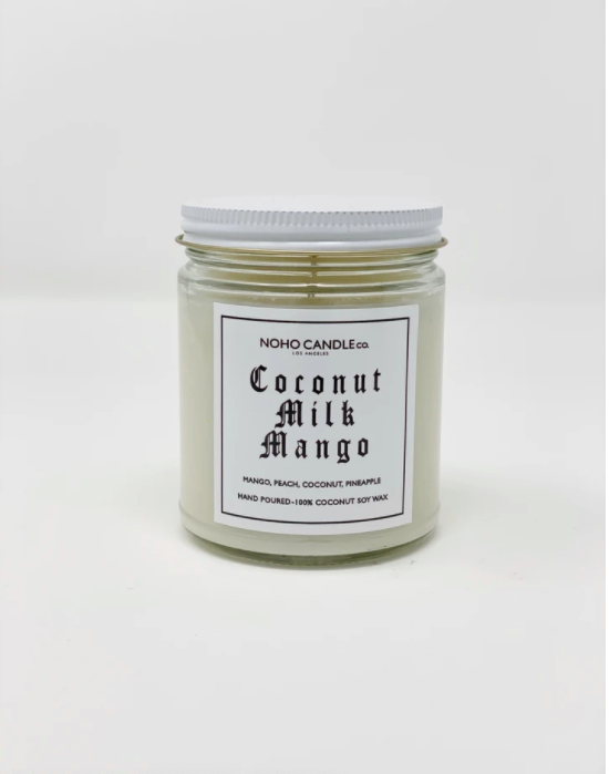 Coconut Milk Mango | Classic Glass Candle Jar