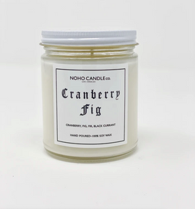 Cranberry Fig | Classic Glass Candle Jar