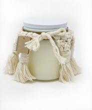Load image into Gallery viewer, Hand-woven Macrame Candle Cover