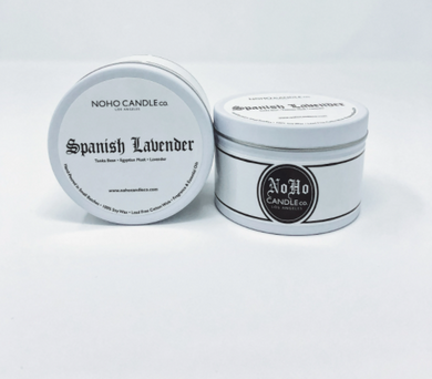 Spanish Lavender | Classic Travel Tin Candle