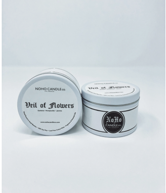 Veil of Flowers | Classic Travel Tin Candle
