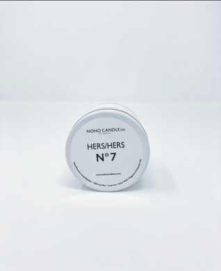 His/Hers No. 7 | Classic Travel Tin Candle