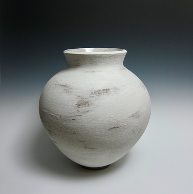 Large Wheel Thrown Vase
