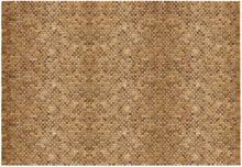 Load image into Gallery viewer, Woven Teak Indoor/Outdoor Floor Rug 5' x 8' IPM002
