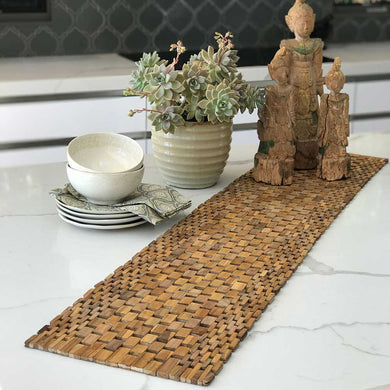 Teak Table Runner IPM001