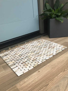 Whitewashed Rosewood Floor Mat IPM005