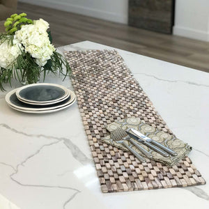 Whitewashed Rosewood Table Runner IPM001
