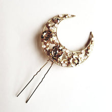 Load image into Gallery viewer, Bohyne Hair Pin with Swarovski stones