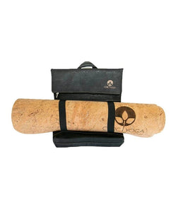 Cork Yoga Backpack | Transfer : Coal