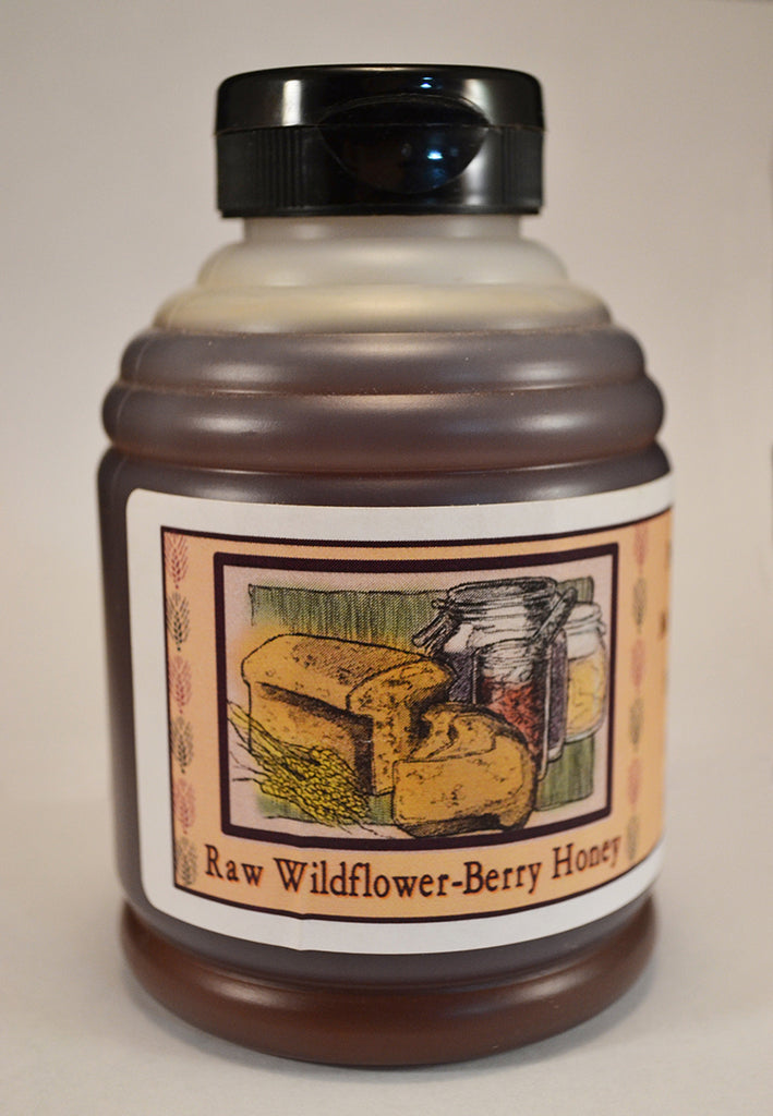 Raw Wildflower-Berry Honey