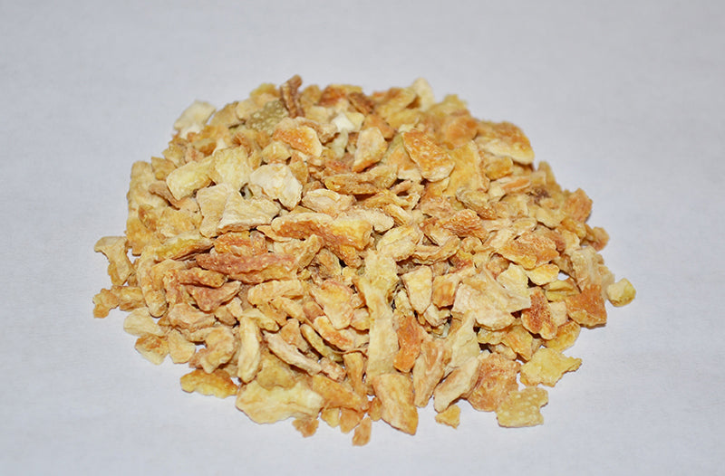 "Lemon Peel (cut & sifted, 1/4"")"
