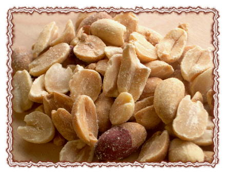 Organic Spanish Peanuts (roasted & unsalted )
