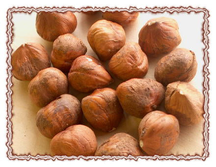 Raw Shelled Hazelnuts