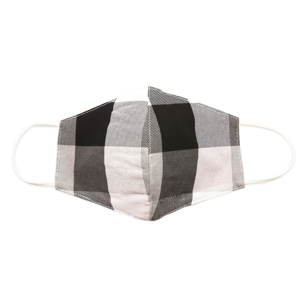 Mask-Mart Designer Pattern Face Mask, 100% Cotton - Tartan