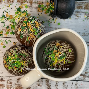 St Patrick's Day Chocolate Bombs