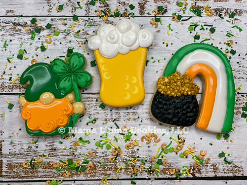 St Paddy's Day Cookie Class