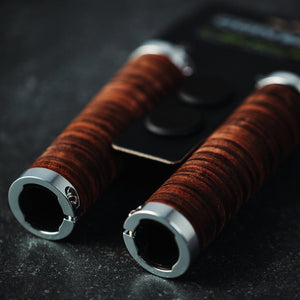 Leather Handlebar Grips Mellow Classic - Urban Drivestyle Benelux