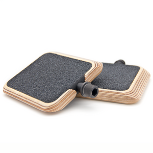 MOTO Wooden Pedals with grip tape for Bicycles - Urban Drivestyle Benelux