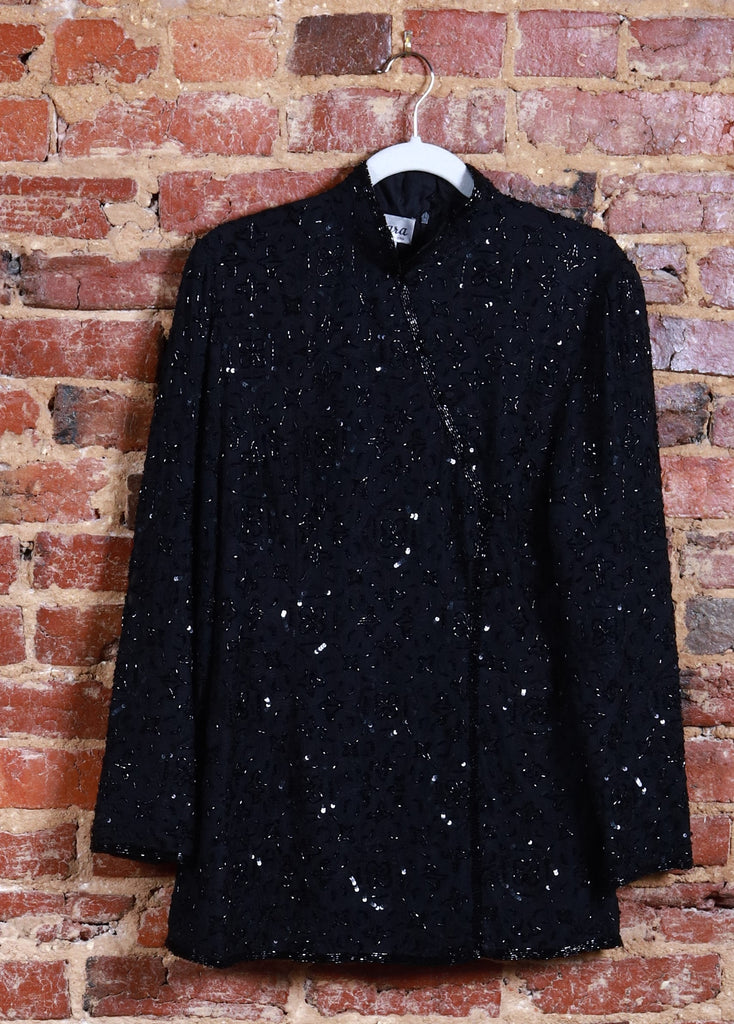 BLK Asian Embroidered Mini Shirt/Dress