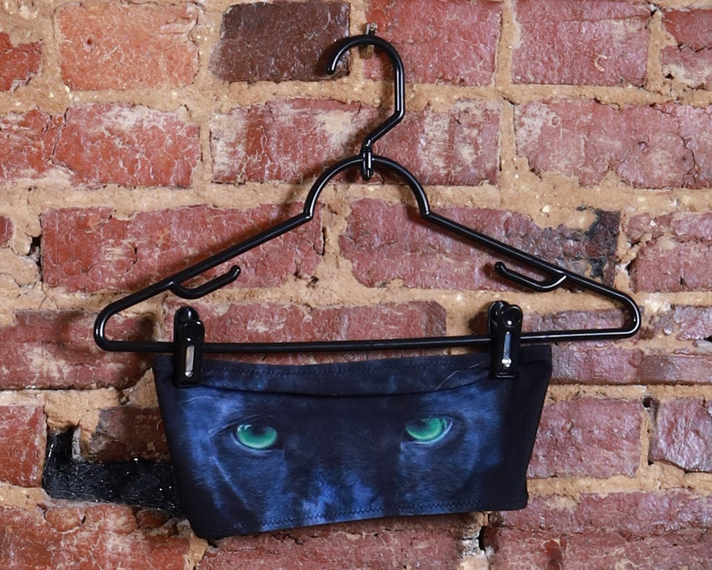 BLK Panther Eyes Bandeau