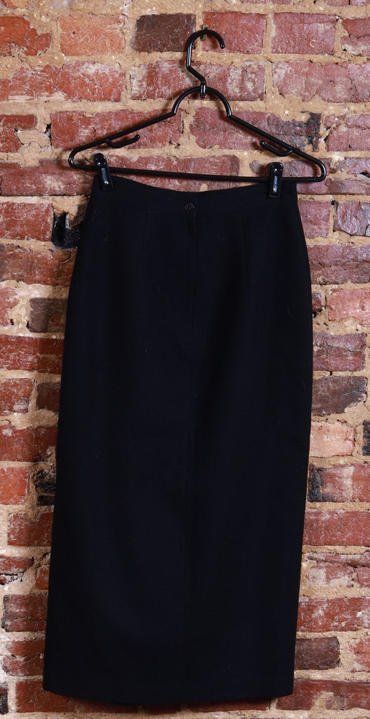 BLK Wool High Waist Skirt w/ Split