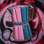 Limited Edition Coffee Makers Pin Set