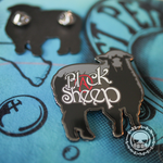 Black Sheep Hard Enamel Pin