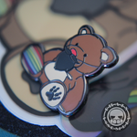 Bearded Bear Hard Enamel Pin