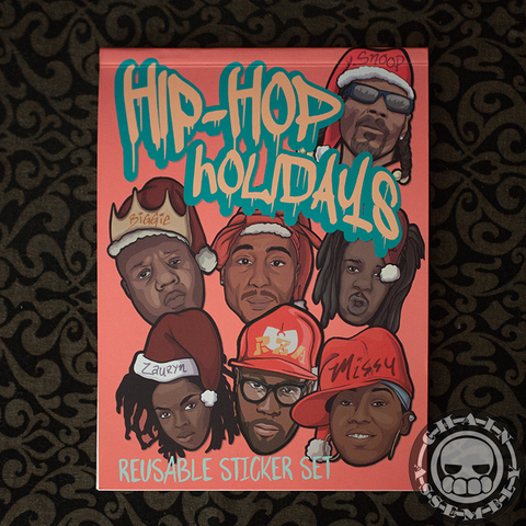 Hip Hop Holidays Sticker Book